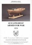 Longboat armed for war, 1834 + чертежи