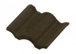 Черепица фламандская черная, масштаб 1:20, 150 шт