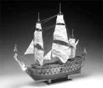 Чертеж корабля HMS Prince