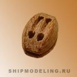 Блок, двушкивный, 4,5х3 мм, 10 шт