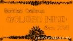 Табличка 70х40 мм Golden Hind