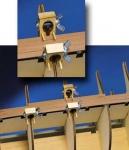 С-зажимы на шпангоуты тоньше 5 мм (6 шт)