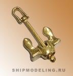 Якорь Холла, металл, 35 мм