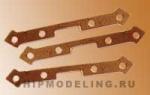 Петля для пушечного порта, медь, 7 мм, 20 шт