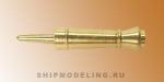 Макет пушки, латунь, 20 мм, 4 шт