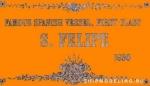 Табличка 115х65 мм SAN Felipe