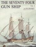The 74 gun ship. Том 3. Рангоут, такелаж, паруса.
