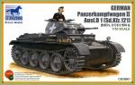 Склеиваемая пластиковая модель танка PanzerKampfwagen II Ausf.D1, масштаб 1:35
