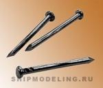 Гвоздь черненный, сталь, 12 мм, 200 шт