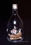 Santa Maria корабль в бутылке масштаб 1:450