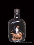 Catalan Ship корабль в бутылке