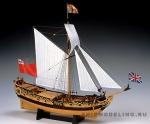 Charles Royal Yacht 1674 масштаб 1:64
