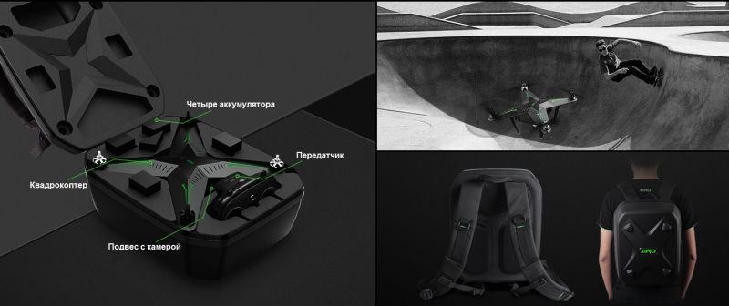 Рюкзак для квадрокоптера XIRO BACKPACK