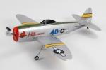 Радиоуправляемая модель электро самолёта Nine Eagles Republic P-47 Thunderbolt 2.4GHz RTF