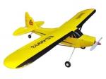 Радиоуправляемая модель электро самолета Easy-Sky Piper J3 Cub 2.4GHz RTF (желтый)