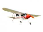 Радиоуправляемая модель электро самолета Easy-Sky Piper J3 Cub 2.4GHz RTF (оранжевый)