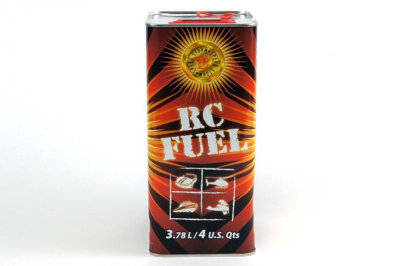Топливо для радиоуправляемых автомоделей Speed Storm Car 16% нитрометана 12% масла 3,8 литра