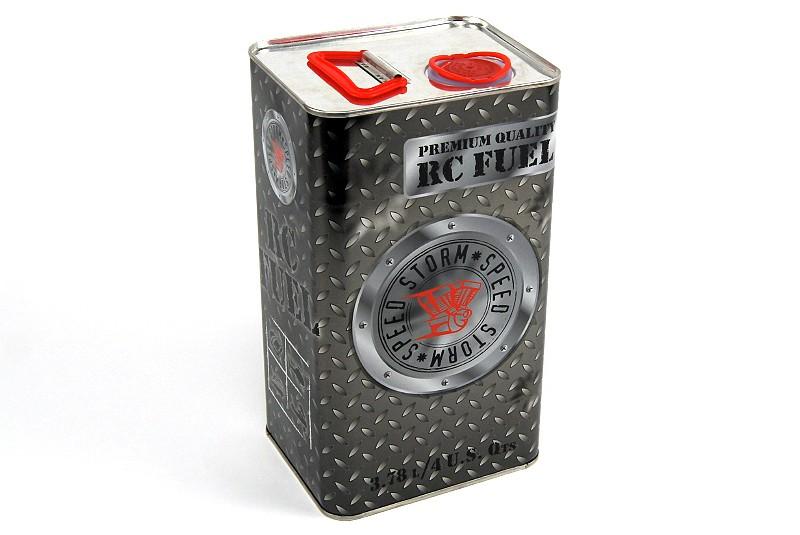 Топливо для радиоуправляемых авиамоделей Speed Storm Aero 10% нитрометана 20% масла 3,8 литра