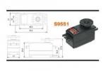 Мощная, быстрая, низкопрофильная цифровая сервомашинка Futaba S9551