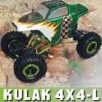 Радиоуправляемая модель электро Краулер Kulak 4WD 1:18 2.4Ghz