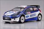Радиоуправляемая модель электро Kyosho Ford Fiesta WRC 2.4GHz 4WD RTR без АКК и З/У 1:9