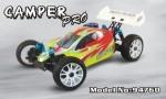 Радиоуправляемая модель багги Camper 4WD, масштаб 1:8, с ДВС (нитрометан), HSP 2.4Ghz