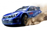 Радиоуправляемая модель Ралли Kyosho GP 4WD r/s DRX Impreza WRC 08ДВС (нитрометан) масштаб 1:9