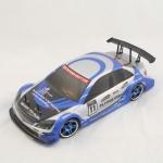 Радиоуправляемая модель электро Туринг Flying Fish 1 4WD 1:10 2.4Ghz (Мерседес/сине-серый)