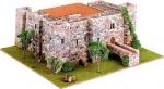 Средневековый Замок №4 (vallparadis) масштаб 1:125