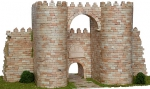 Ворота Alcazar масштаб 1:100
