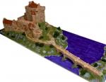 Замок Eilean Donan масштаб 1:135